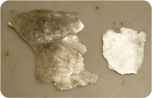 Sheets of mica