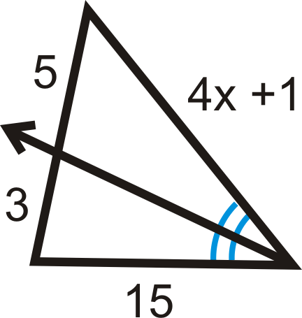 Proportions with Angle Bisectors ( Read ) | Geometry | CK 12 ...