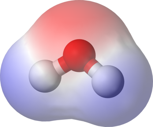 Demonstrating dipole in a water molecule